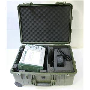 Anritsu MS2721B Spectrum Analyzer 9kHz - 7.1GHz Opt 20 Tracking Generator w Case