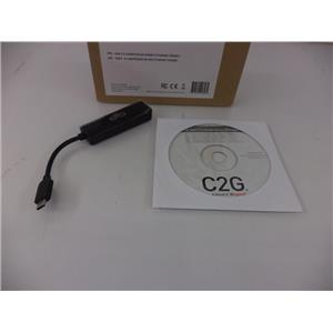 C2G/Cables to Go 29326 USB-C to Gigabit Ethernet Network Adapter