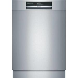 "Bosch Benchmark 24"" 38 dBA 7 Wash Cycles Semi Integrated Dishwasher SHE89PW75N"