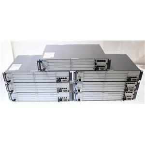 Lot of 7 Huawei BBU3900 Modular Telecom Chassis with UPEU Module
