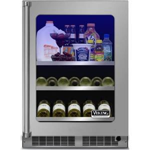 Viking Professional Series 24 Inch Undercounter Beverage Center VBUI5240GRSS