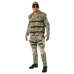 Seal Team 2 Adult Navy Military Costume X-Large