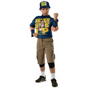 WWE: John Cena Wrestler Deluxe Child Costume Size Small 4-6