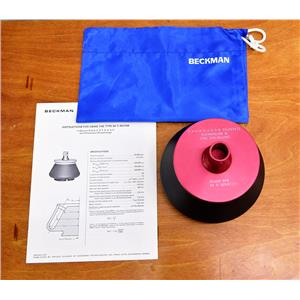 Beckman Coulter Type 50 Ti Ultracentrifuge Centrifuge Rotor 50000 RPM Titanium