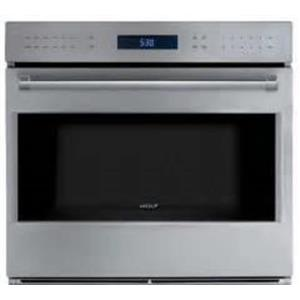 Wolf 30 Inch 10 Modes True Convection Single Electric Wall Oven SO30PESPH