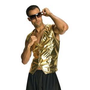 MC Rapper Gold Hammer Style Vest Time 1980s