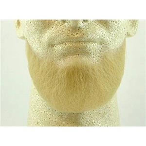 Blonde Human Hair Goatee Chin Beard Costume Beard 2023
