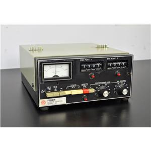 Fisher Scientific Titrate Demand Model 381 Titration
