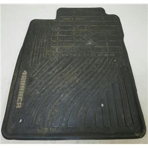 2005-2009 Toyota 4Runner Set of 4 Front & Rear Floor Mats All Weather Rubber OEM