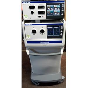 Olympus ESG-400 Electrosurgical /USG-400 Ultrasonic Generator-ThunderBeat System
