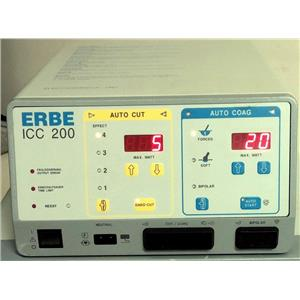 ERBE ICC 200 Electrosurgical Unit