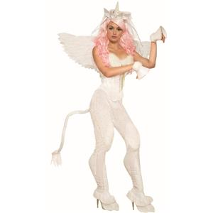 Mythical Creatures Unicorn Pants Cosplay Fur Horse Legs Adult Womens Costume