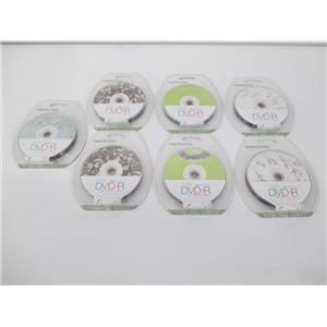 LOT OF 7 - Memorex 32020033968 DVD-R 10PK 16X 4.7GB Tranquility - LOT OF 7 NEW!!