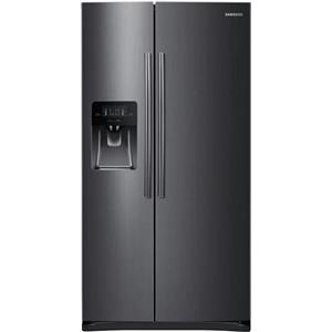 Samsung 36 Inch 24.5 cu. ft Twin Cooling Side by Side Refrigerator RS25H5111SG (price)