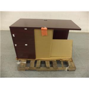 """Hon H105906L Left Return W/ Full Pedestal (24"""" X 48"""") Desk"""