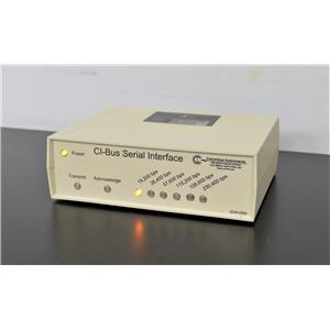 Columbus Instruments CI-Bus Serial Interface Bus Out Serial Communication