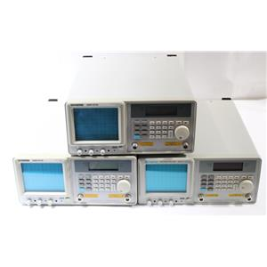 Lot of 3 Instek GSP-810 150KHz-1GHz Spectrum Analyzer w Tracking Generator AS-IS