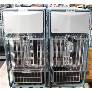 PAIR of Cisco Nexus 7000 Switches N7K-C7010 with SUP1 Enterprise Licensed