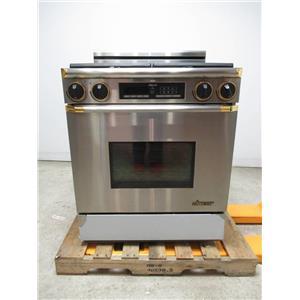 """Dacor 30"""" 4 Burner Gold Accent Gas Range EGR30SO6BR"""