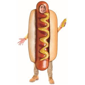 Hot Dog Adult Sublimation Costume One Size