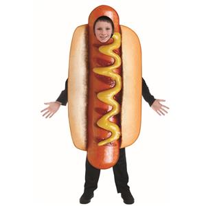 Hot Dog Child Sublimation Costume One Size