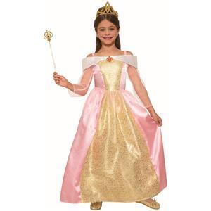 Princess Paisley Rose Child Pink Kids Halloween Costume Medium 8-10