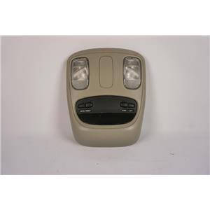 2002-2009 Dodge RAM 1500 2500 Overhead Console with OTIS 56049706AF Map Lights