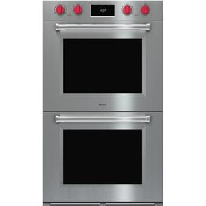 "NIB Wolf M Series 30"" SelfClean 10 Cook Mode Double Electric Wall Oven DO30PMSPH"