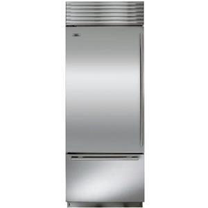 NIB Sub-Zero 30 Inch 17 cu. ft Built-in Bottom-Freezer Refrigerator BI30USTHLH