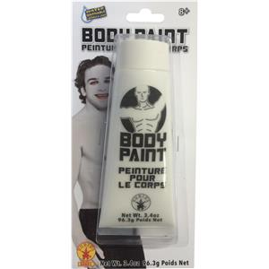 White Rubie's 3.4oz Tube Makeup Body Paint