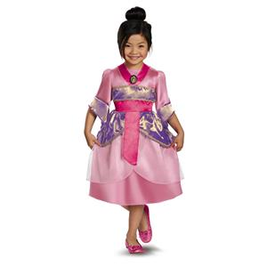 Disguise Disney's Mulan Sparkle Classic Girls Costume 4-6X