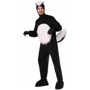 Forum Plush Skunk Mascot Adult Costume