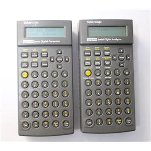 Tektronix SDA 601 & TSG 601 Serial Digital Analyzer Test Set