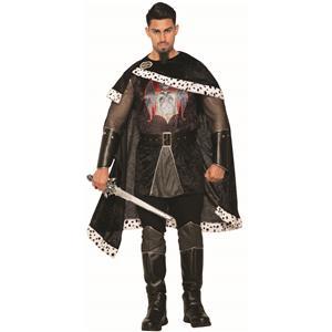 Dark Royalty Black Evil King Adult Mens Costume