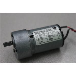 Buhler Motor GmhB 1.61.046.312.09 12VDC Motor from Ortho Provue