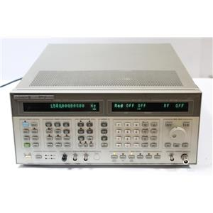 HP 8664A Synthesized Signal Generator .1 - 3GHz w/ Opt 004 Low Noise