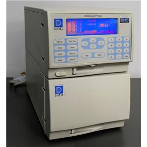 Dionex GS50 Gradient Pump HPLC Dual Degasser Variable Speed wit DX-LAN Port