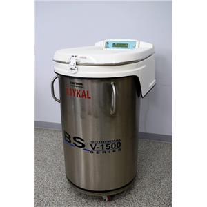 CBS Custom BioGenic Systems V-1500 Liquid Nitrogen Freezer Dewar Series 2300