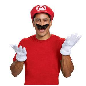 Super Mario Brothers: Mario Adult Costume Accessory Kit