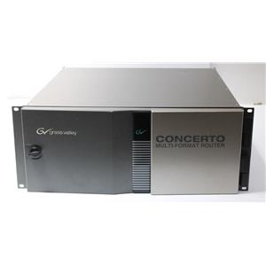 Grass Valley GVG Thomson Concerto SDI Multi-Format Router