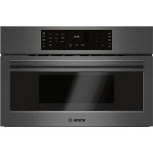 "Bosch 800 Series 30"" True Convection Sensor Cook Speed Oven HMC80242UC Black S."