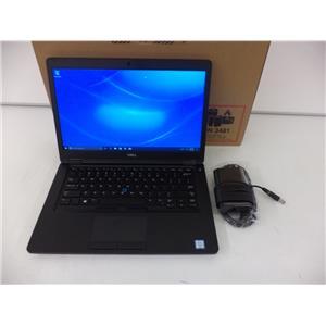 "Dell 4KM6X Latitude 5490 i5-8350U 1.7GHZ 8GB 256GB M.2 SSD 14"" W10P"