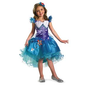 Ariel Disney Princess Tutu Prestige Child Costume Medium 7-8