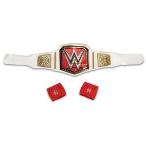 WWE Champion Adult Costume Accessory Belt and Wristbands Kit