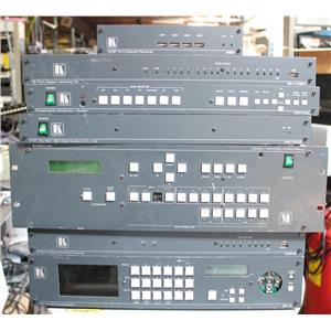 Lot of Kramer Switchers VM-10HD 692 SP-11 VP-747T VP-725-DS VP-719 VP-724 MV-6
