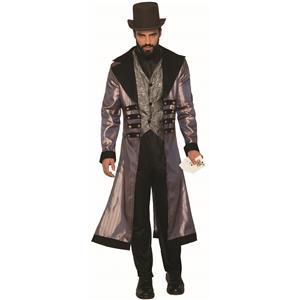 Badlands Wild Western Gambler Suit Adult Mens Costume