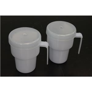 (Lot of 2) NEW Sammons Preston The Kennedy Cup 1249 Spillproof Adult Sippy Cup