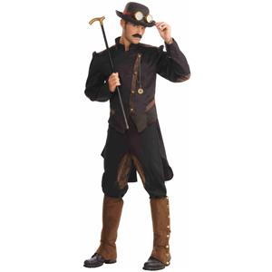 Wild West Steampunk Gentleman Adult Costume