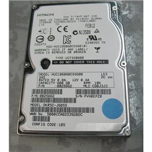 "Hitachi HUC106060CSS600 0B25662 DKR5C-J60SS 600GB SAS 10K 2.5"" SFF hard drive"
