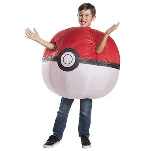 Pokemon: Inflatable Pokeball Child Costume